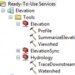 Elevation and Hydrologic Analysis Ready-To-Use Services in 10.2.1