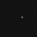 plane spotted in near infrared
