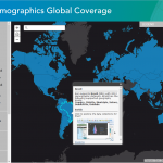 Click on the image to visit the Esri Demographics Global Coverage Story Map