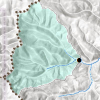 Watershed Delineation with Multi-Directional Hillshade