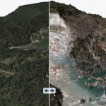 Oso Landslide Web Scene: Before and After