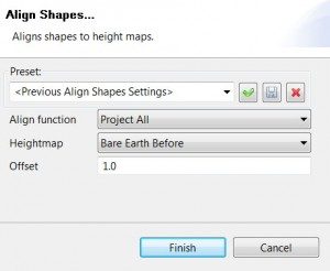 Align Shapes to Terrain