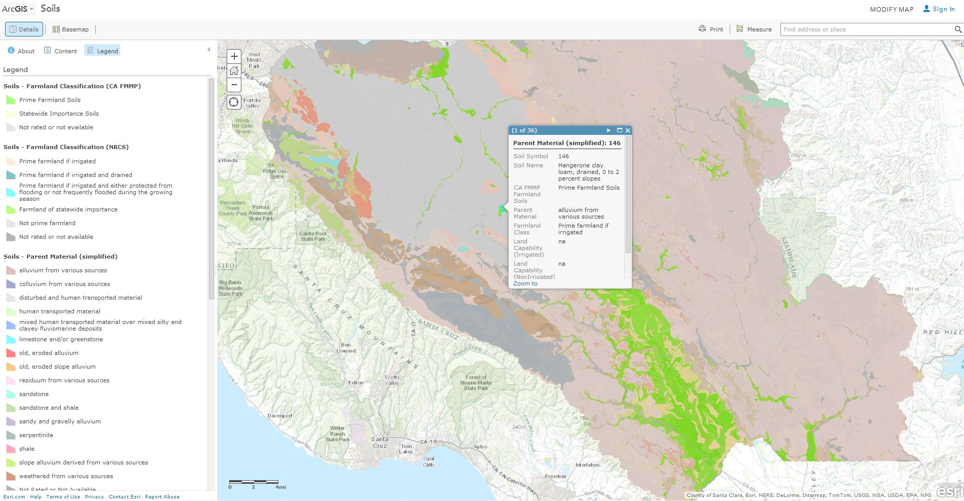 Arcgis living atlas of the world 2014 septe geonet santa clara county has successfully created this web map describing soils data this gis service maybe used in gis software and is optimized for esris gumiabroncs Choice Image