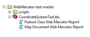 Web Mercator Test tools