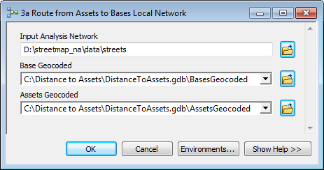 Route Assets To Bases Tool