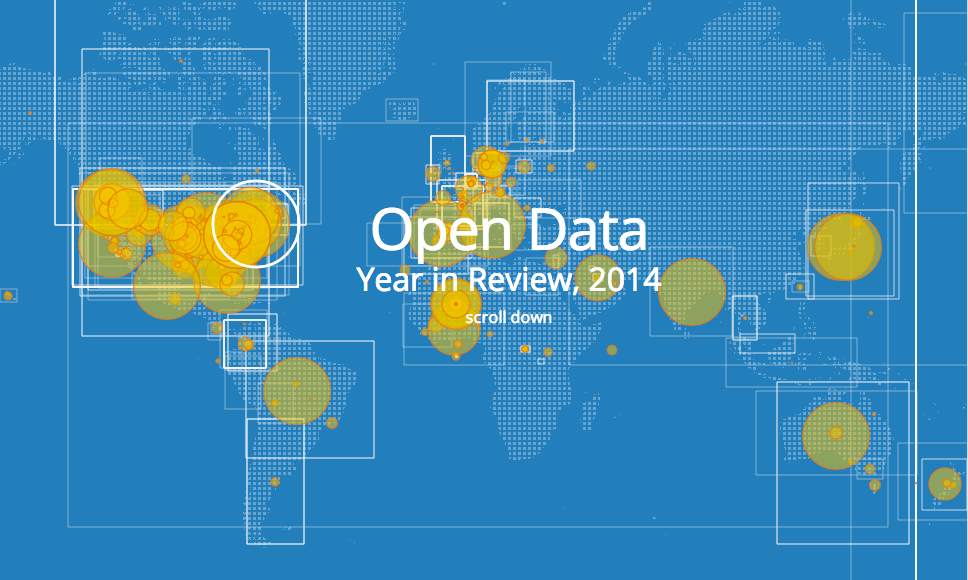 ArcGIS Open Data 2014 Year in Review