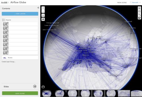 3D web scenes take flight