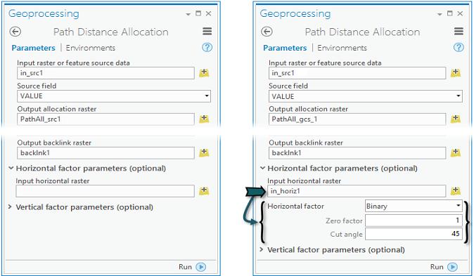 Contextual tool parameter