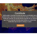 Living Atlas Contribute App