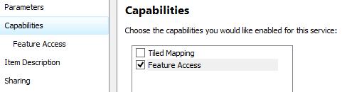 Service Editor Capabilities