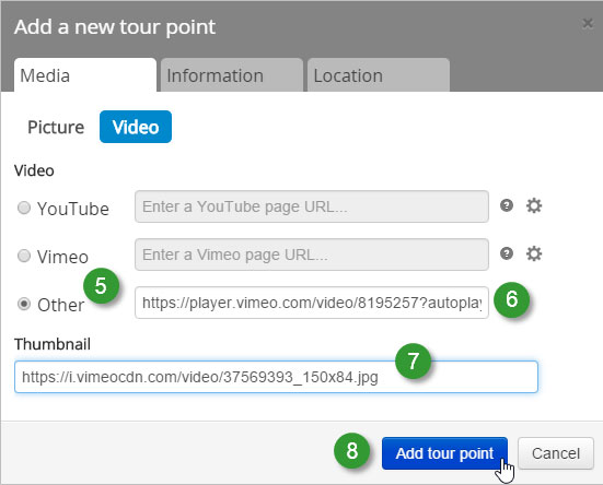 Doing more with Vimeo in your Story Map Tour