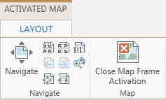 arcgis how to change layout extents