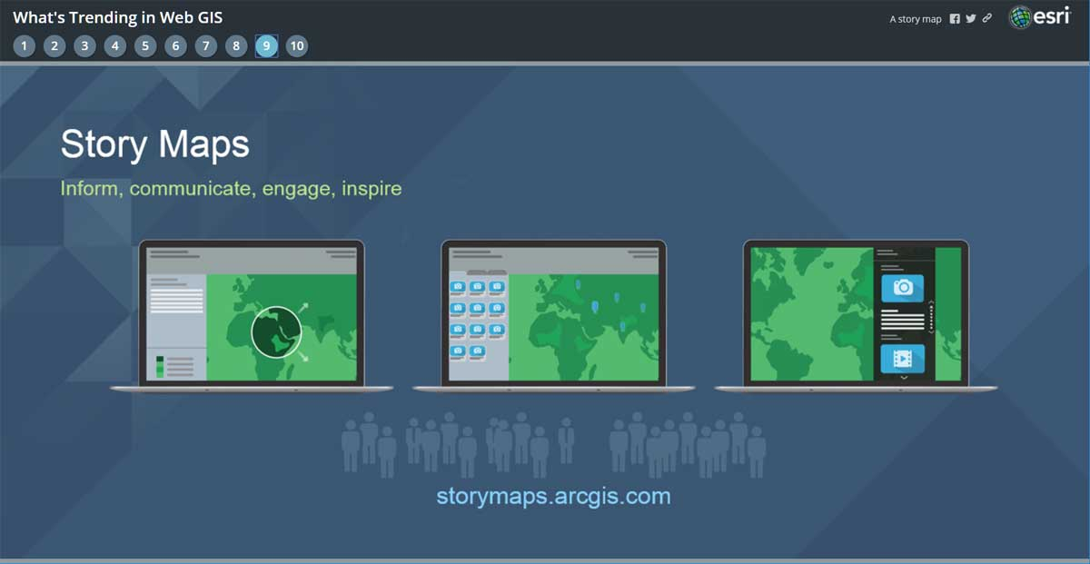 see using story maps instead of powerpoint