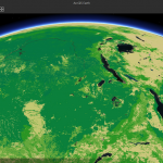 Living Atlas Biomass in ArcGIS Earth Prototype