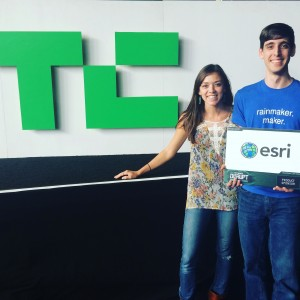 Esri TCdisrupt Winner Happy Parent Club