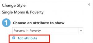 Add second attribute