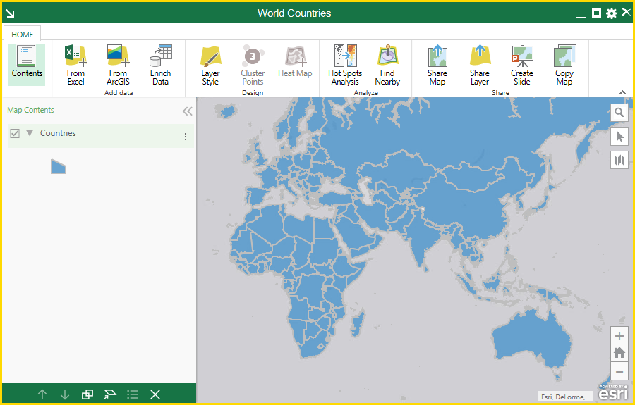 Map the world with esri maps for office gumiabroncs Images