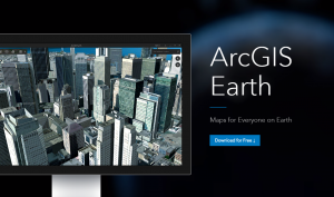 ArcGIS Earth home page