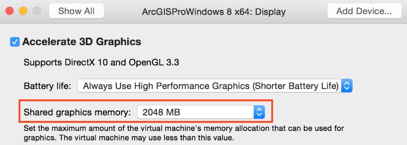 ArcGIS Pro in Mac OS X