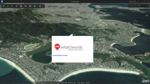 What3Words embedded in ArcGIS Earth