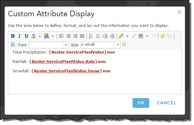 using raster processing templates to improve your pop up windows