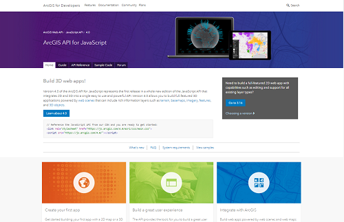 It's here! ArcGIS API for JavaScript 4 0 Released