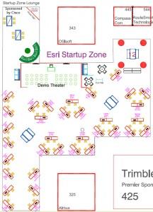 2016 Startup Zone Floor Plan