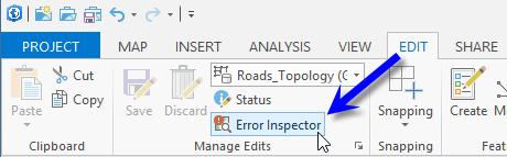 Open Error Inspector