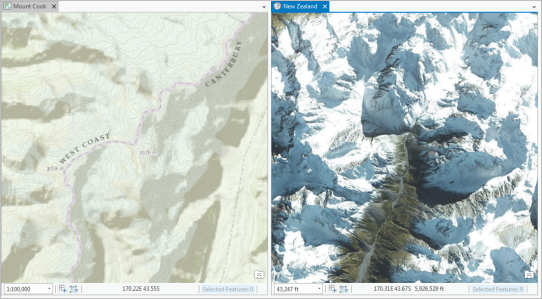 3D linked views in ArcGIS Pro