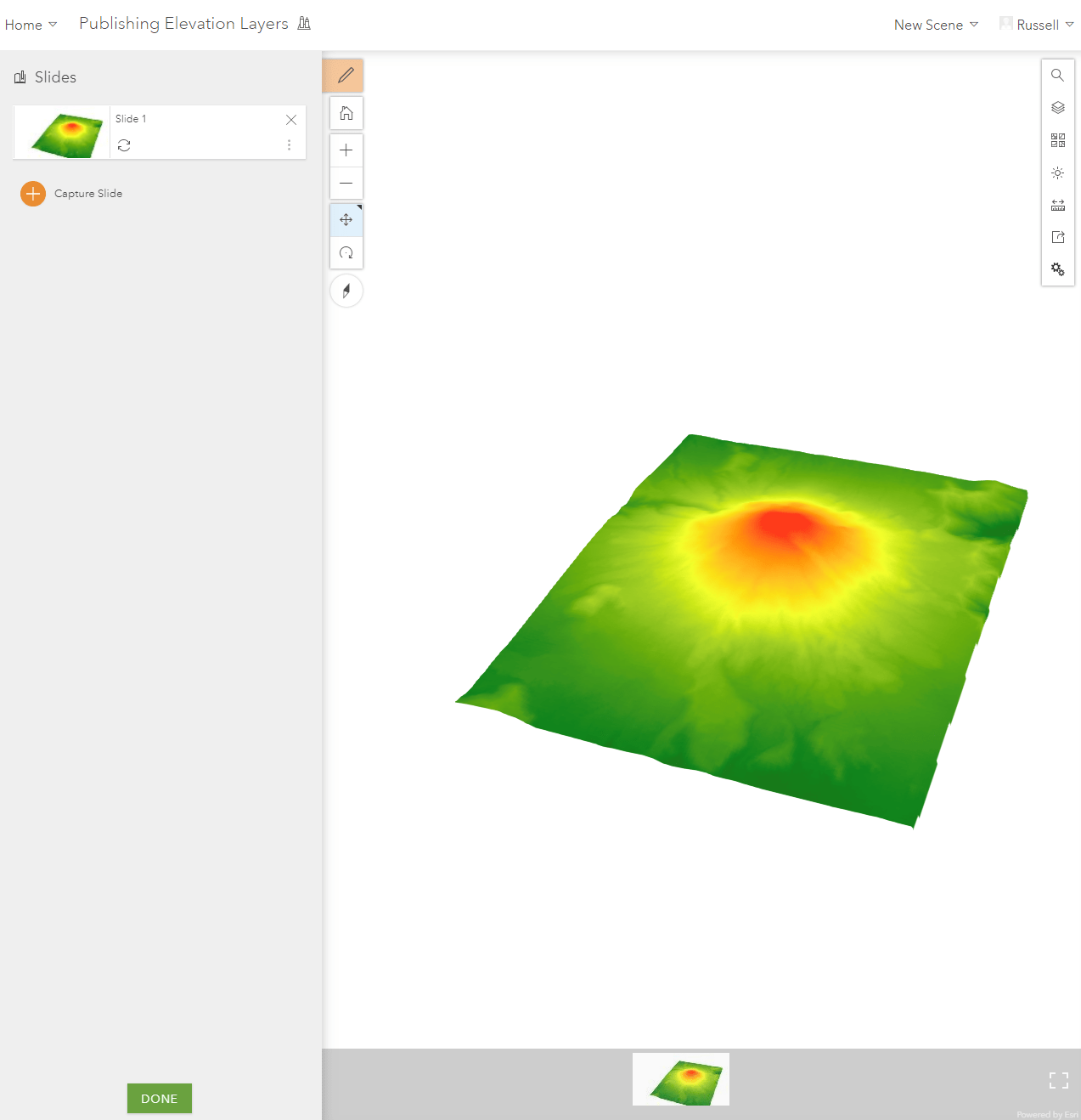 Creating and Using Elevation Layers in ArcGIS Online