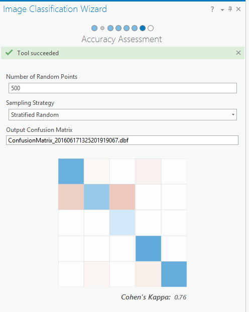 Accuracy Assessment page