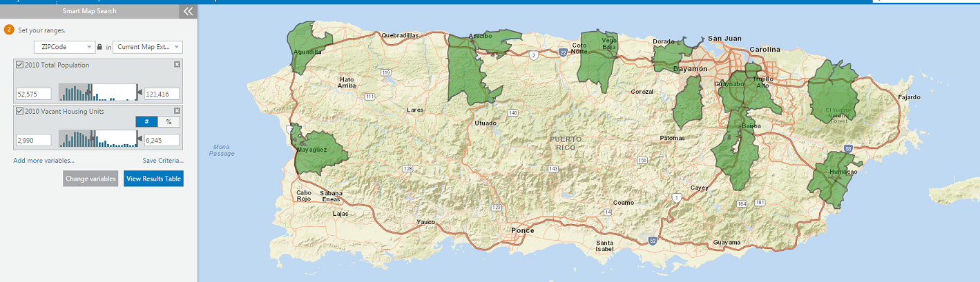 Explore the Puerto Rico census data! on map multiple address, map multiple addresses, map multiple cities,