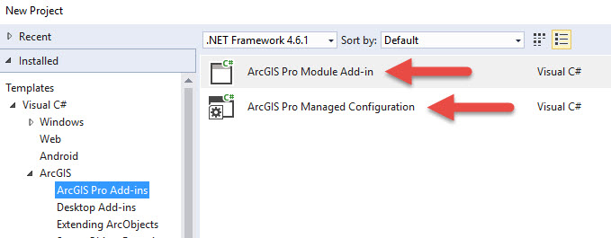 Introducing ArcGIS Pro SDK Configurations