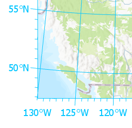 Graticules are used on layouts to show location in geographic coordinates.