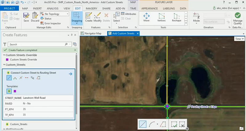 The new training seminar demonstrates how to create custom Navigator maps with your organization's own roads.