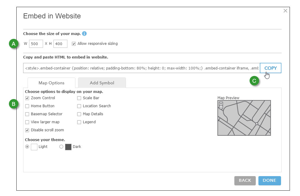 Add a locator map to your website Definition Of Locator Map on