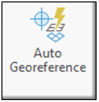 Auto Georefernce button