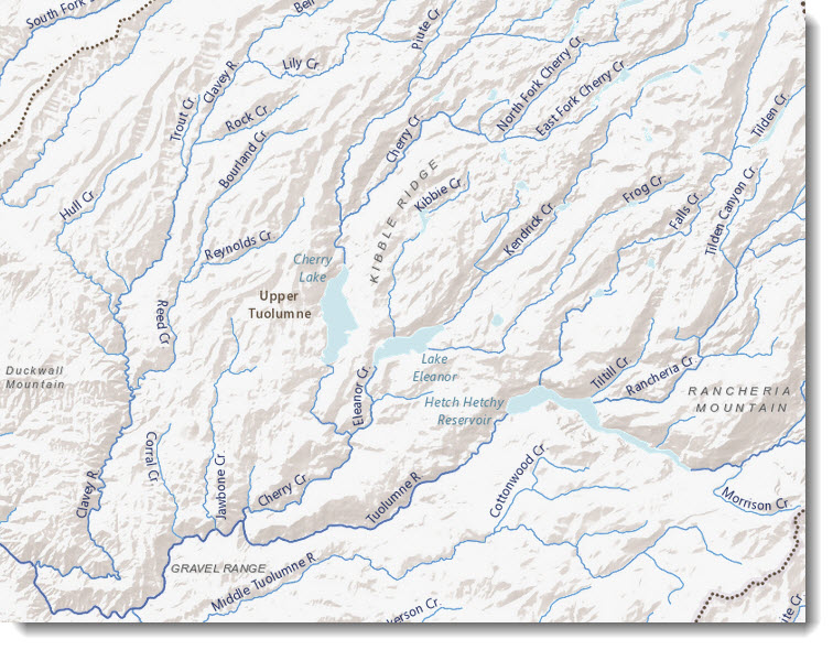 World Hydro Basemap