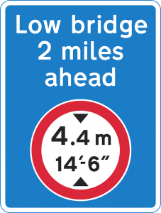low bridge ahead