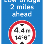 low bridge ahead