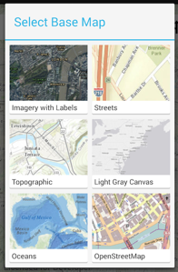 ArcGIS Runtime Example Apps