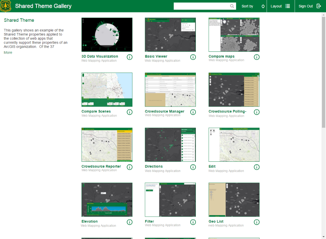 Introducing Shared Theme: a new app styling capability in ArcGIS Online