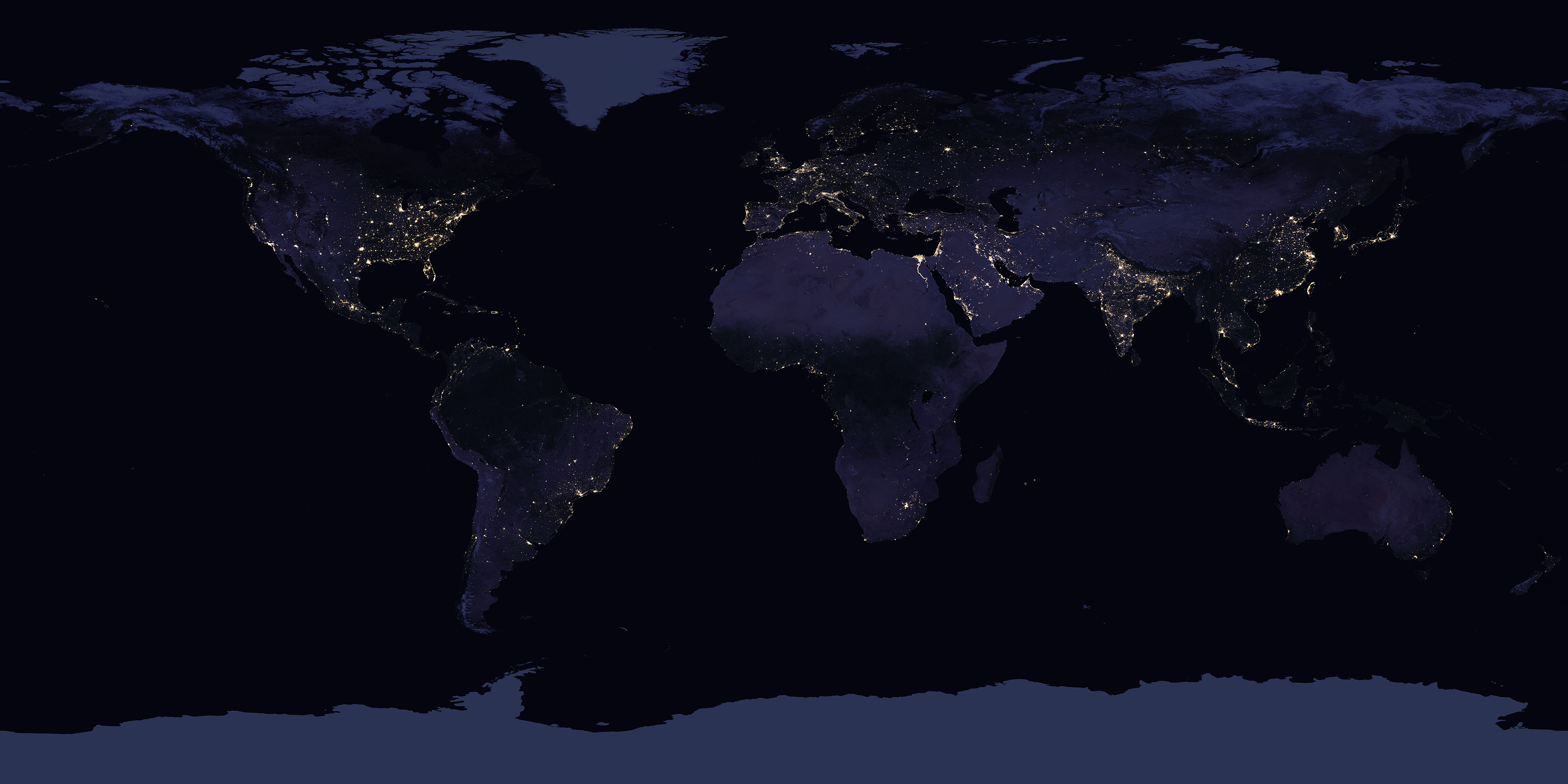 The Earth At Night, 2016