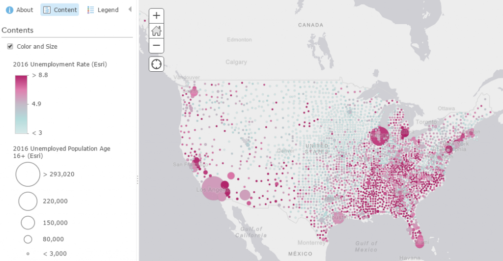 How to Combine Color and Size Effectively in Your Maps