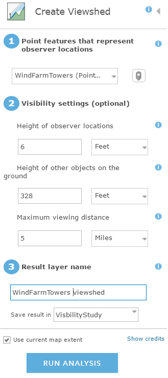 Figure 3: ArcGIS Online Elevation Services