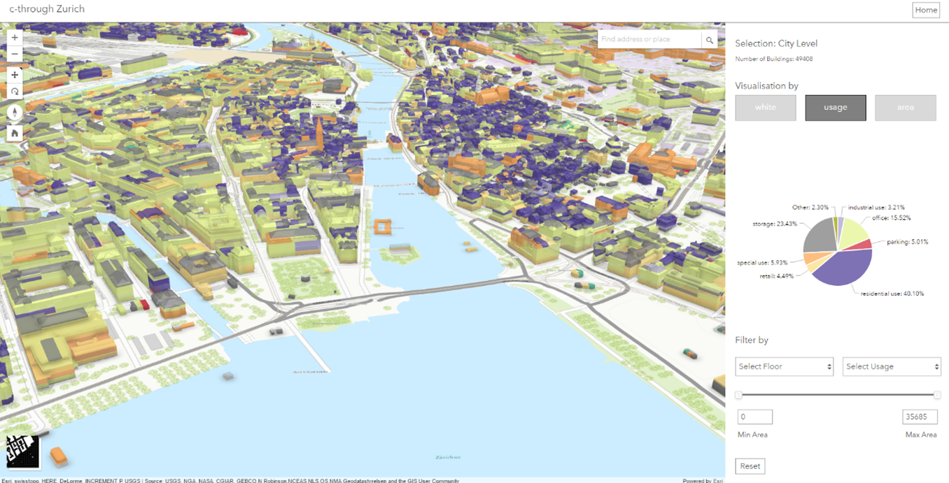 C-Through – A Prototype for Interactive 3D Urban Planning Analysis