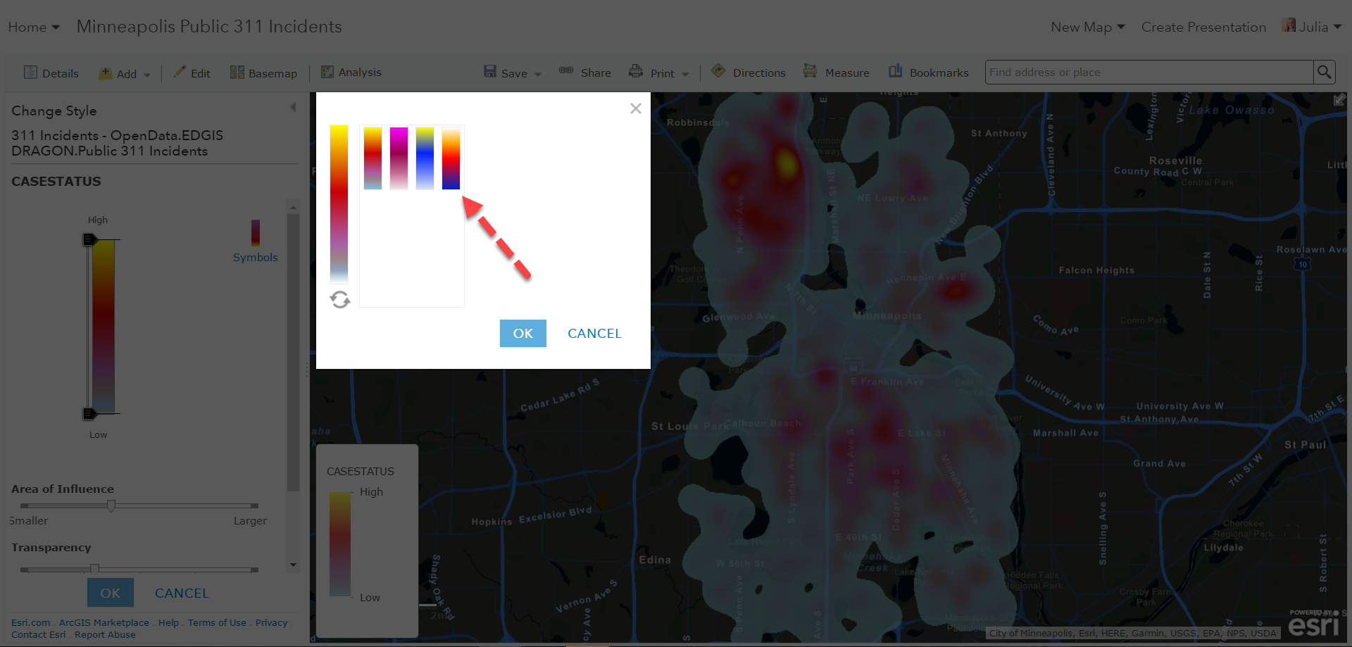 Heat Mapping in Two Simple Steps