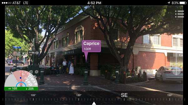 AuGeo: An Augmented Reality mobile app for your GIS data