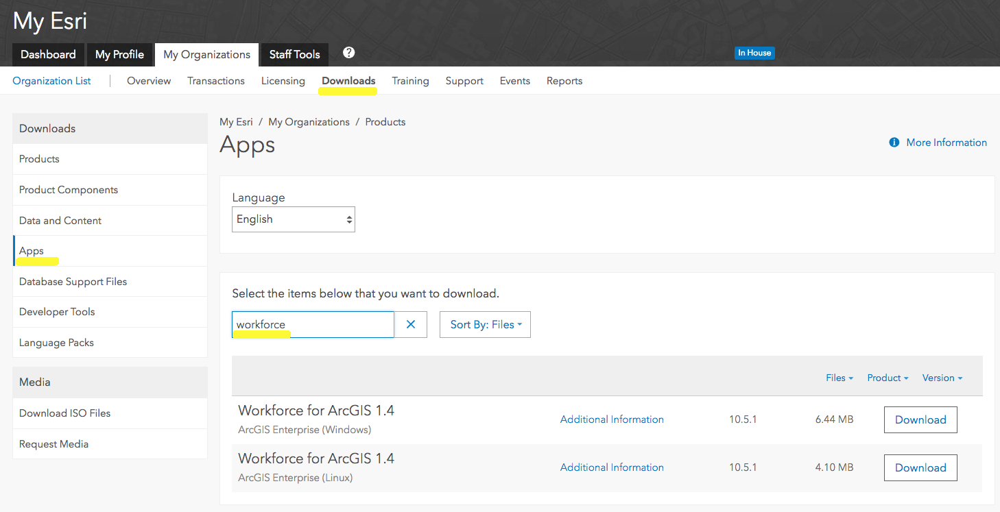 Workforce for ArcGIS Supports ArcGIS Enterprise 10 5 1!