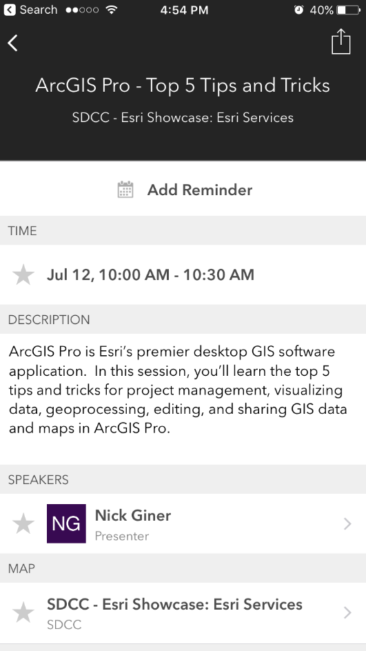 ArcGIS Pro tips session with Nick Giner.